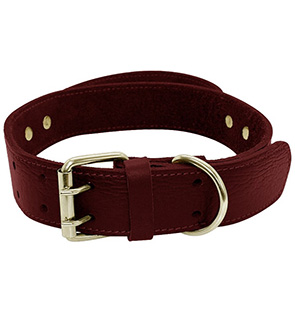 Best Heavy duty wide Leather Training Dog Collars