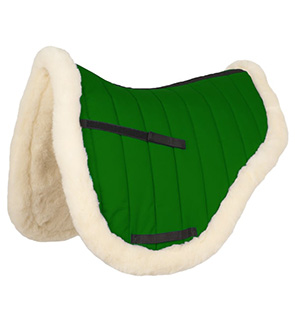 Wool English Saddle Pad