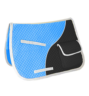 Comfortable English Saddle pad with Pocket