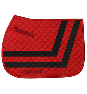 Quilted Custom Design English Saddle Pads