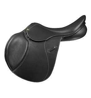 English Horse Saddle With Nameplate