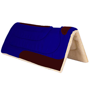 Western wool Saddle Pads