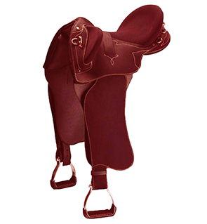 Comfortable Western Trail Saddle