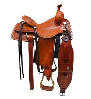 Comfortable Western Saddle