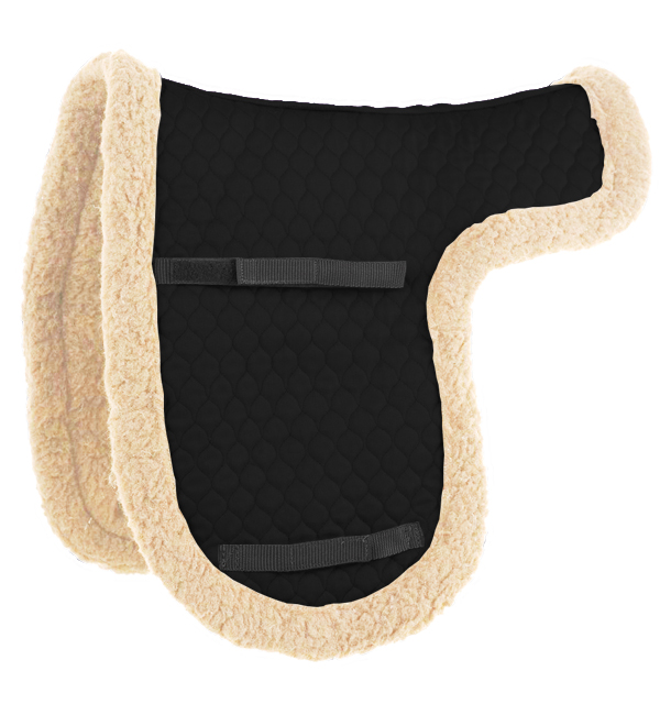 English Saddle Pad Cream Wool