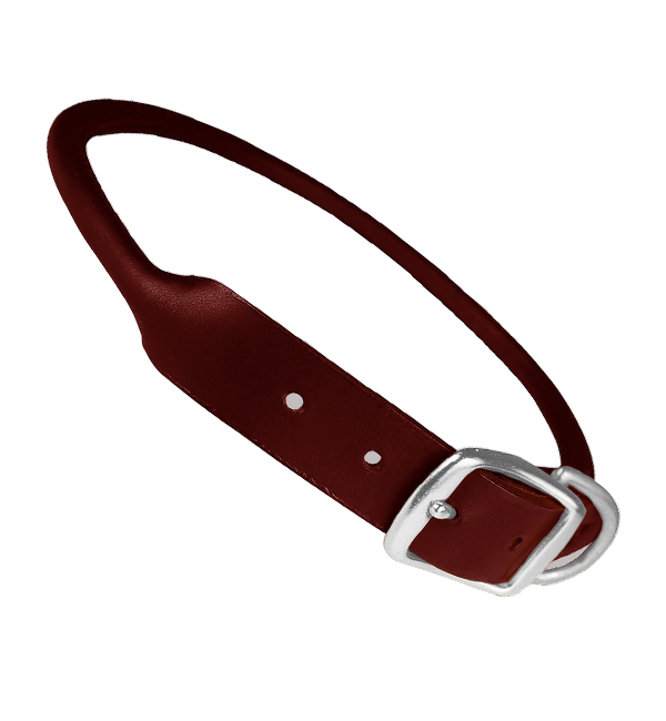 Soft Fancy Leather Dog Collar